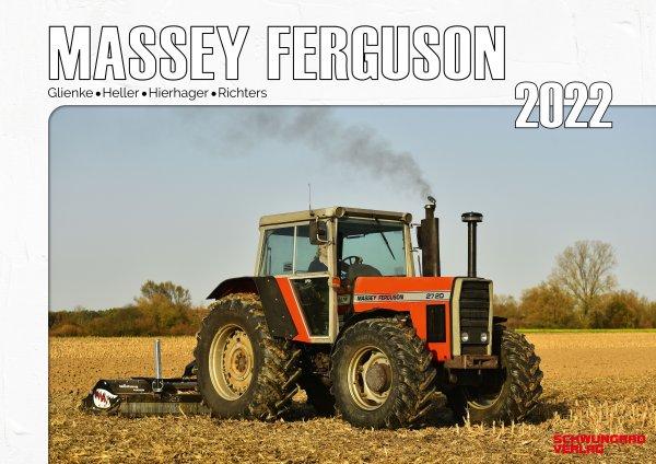 Kalender 2022 - Massey Ferguson im Einsatz